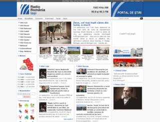 portal.radioiasi.ro screenshot