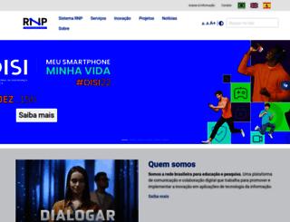 portal.rnp.br screenshot