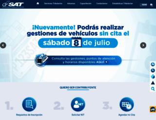 portal.sat.gob.gt screenshot