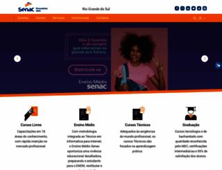portal.senacrs.com.br screenshot