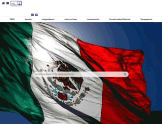 portal.te.gob.mx screenshot