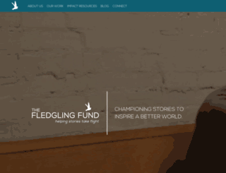portal.thefledglingfund.org screenshot