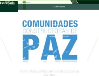 portal.uexternado.edu.co screenshot