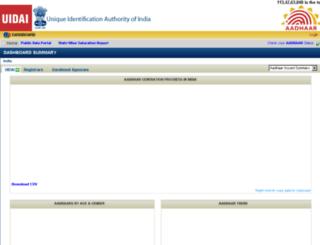 portal.uidai.gov.in screenshot