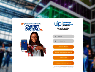 portal.uip.edu.pa screenshot