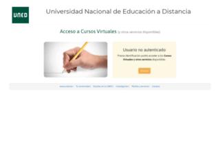 portal.uned.es screenshot