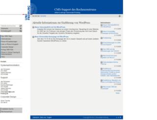 portal.uni-freiburg.de screenshot