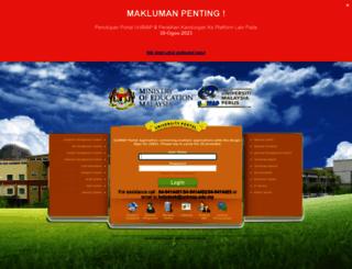 portal.unimap.edu.my screenshot