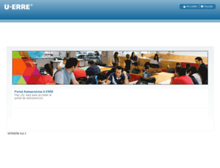 portal.ur.mx screenshot