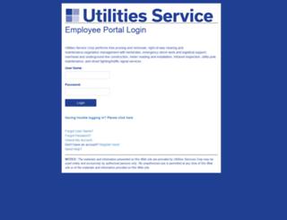 portal.utilservcorp.com screenshot
