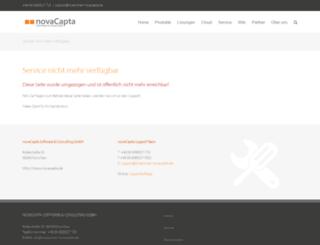 portal.wolf-factoring.de screenshot