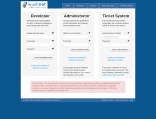 portal.wush.net screenshot