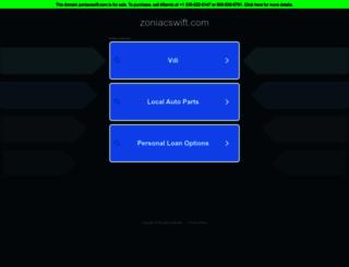 portal.zoniacswift.com screenshot