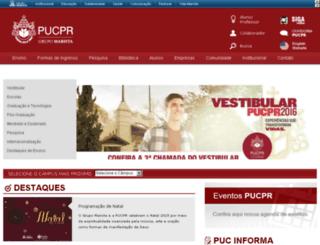 portal04.pucpr.br screenshot