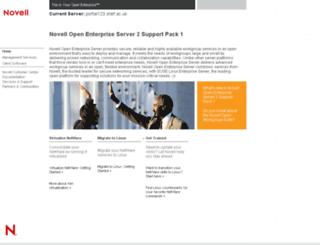portal123.shef.ac.uk screenshot