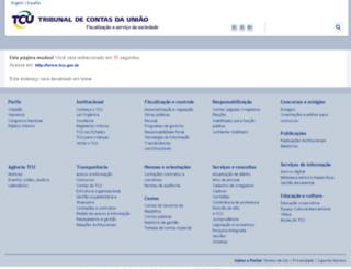 portal3.tcu.gov.br screenshot