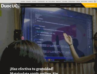 portalacademico.duoc.cl screenshot