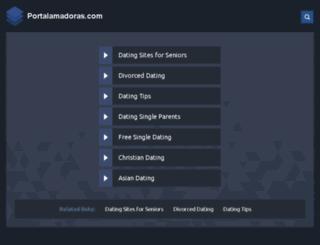 portalamadoras.com screenshot