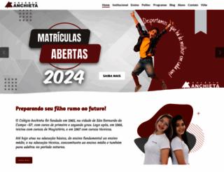 portalanchieta.com.br screenshot