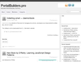 portalbuilders.pro screenshot