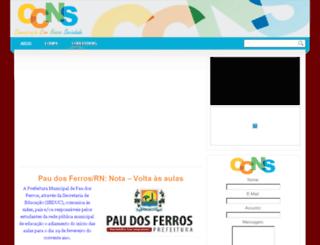portalccns.com screenshot