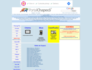 portalchapeco.com.br screenshot