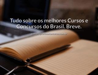 portalcursoseconcursos.com.br screenshot
