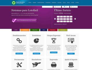 portaldasorte.com screenshot