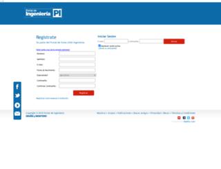 portaldeingenieria.com screenshot