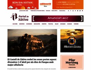 portaldexativa.es screenshot