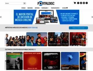 portaldisc.com screenshot
