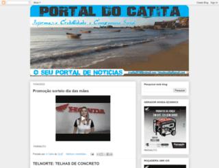portaldocatita.blogspot.com.br screenshot