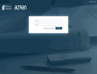 portaldoconsultor.altran.com.br screenshot