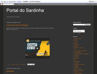 portaldosardinha.blogspot.com.br screenshot