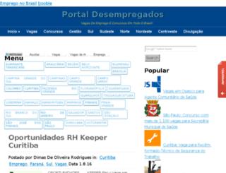 portaldosdesempregados.com.br screenshot