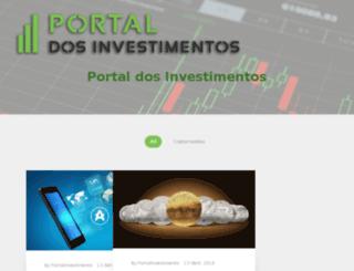 portaldosinvestimentos.com screenshot