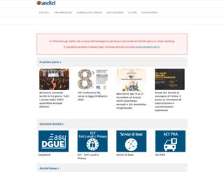 portale.ancitel.it screenshot