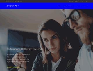 portale.espando.it screenshot