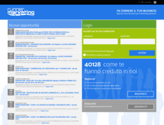 portale.runnermarketing.it screenshot