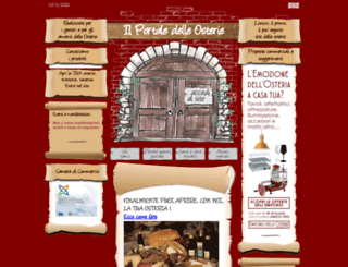 portaledelleosterie.it screenshot