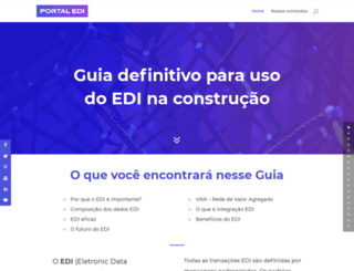 portaledi.com.br screenshot