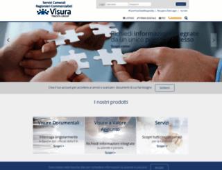 portaleragionieri.visura.it screenshot