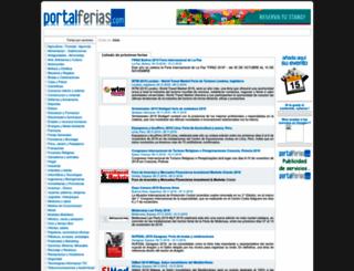 portalferias.com screenshot