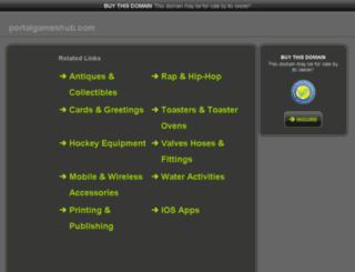 portalgameshub.com screenshot