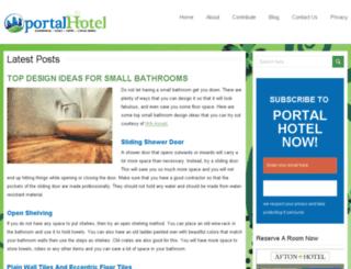 portalhotel.com.au screenshot