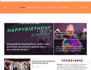 portalkatyperry.com.br screenshot