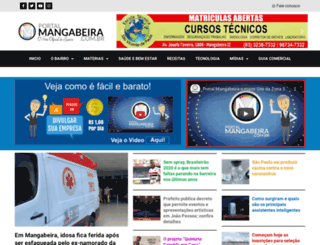 portalmangabeira.com.br screenshot