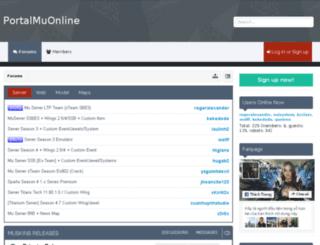 portalmuonline.net screenshot