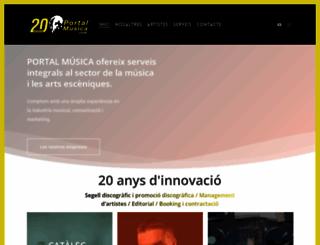 portalmusica.com screenshot