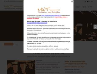 portalosaberdacerveja.com.br screenshot